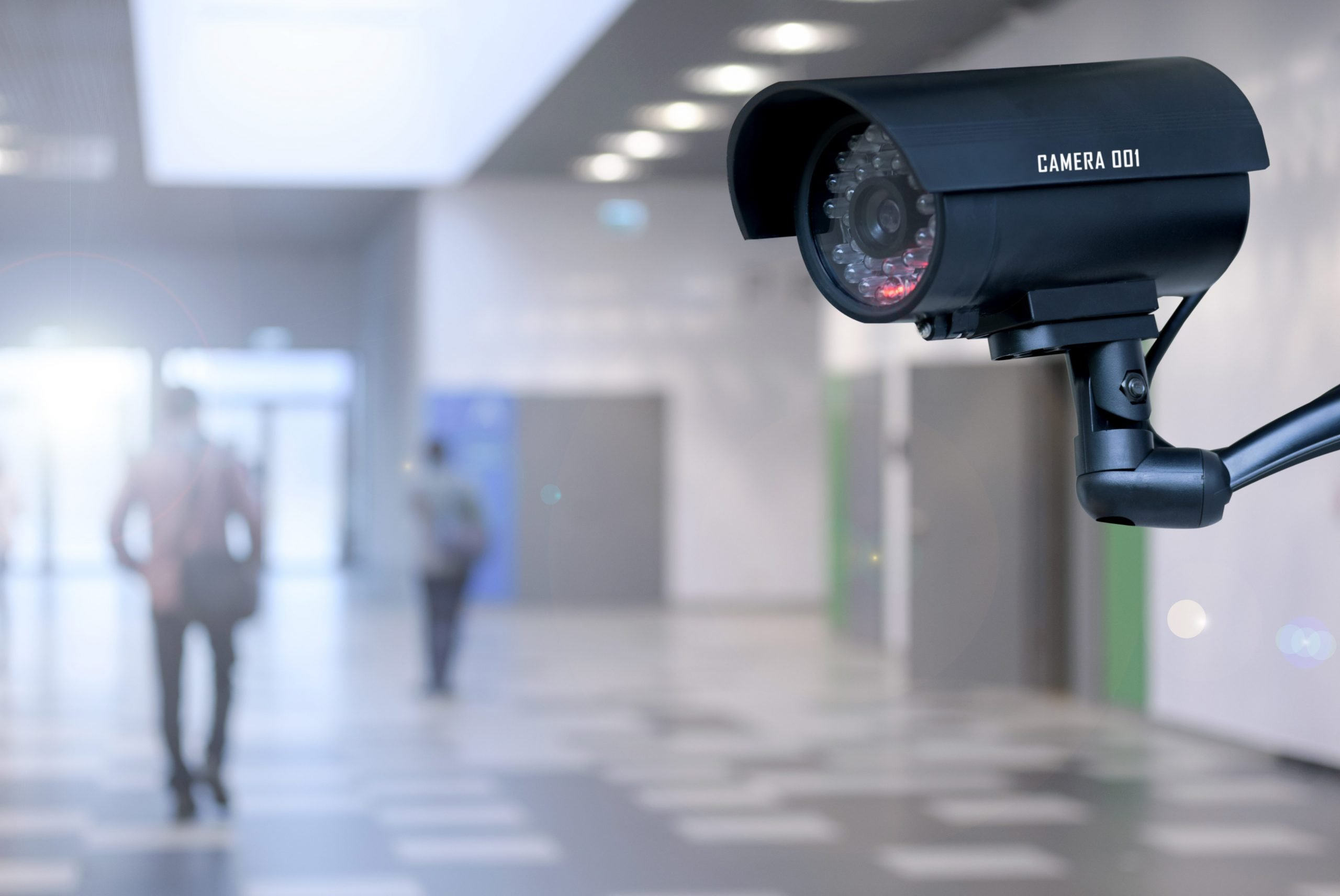 Security camera in foyer